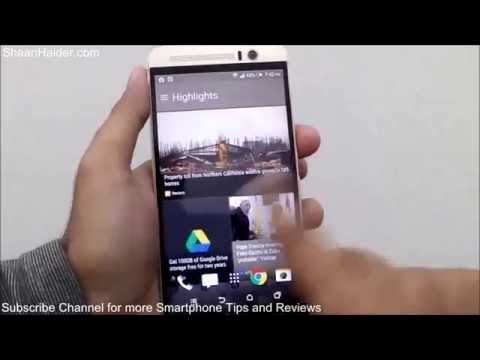 HTC One M9+ : How to Use the HTC Sense Home for Better Productivity