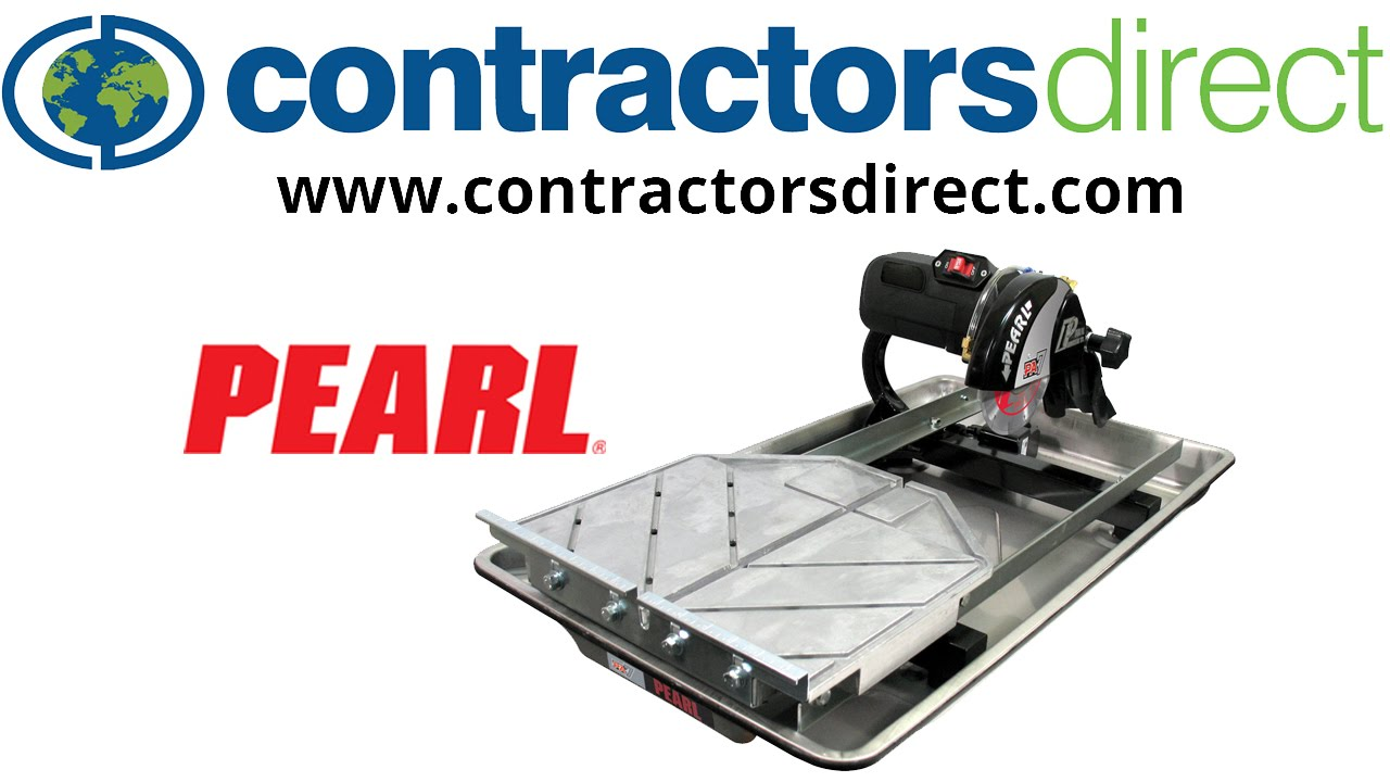 Pearl Pa7 Wet Tile Saw 7 Blade