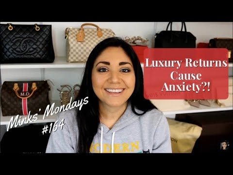 Minks' Mondays #164 | Luxury Returns Cause Anxiety?!