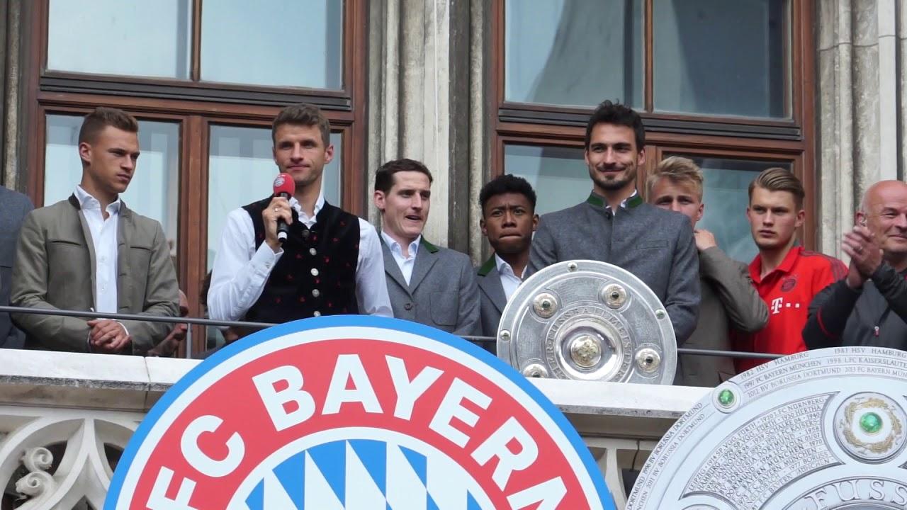 Meisterfeier Bayern