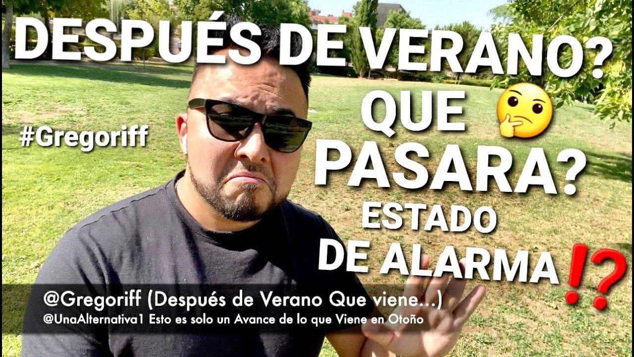 🤔 OTOÑO SERA CLAVE 🤔 PARA SABER QUE VIENE😷🤐😷 #PANDEMIA #CRISIS #ESPAÑA #MADRID #GREGORIFF #VERANO