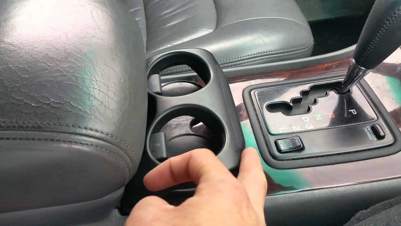 hight resolution of ls400 cup holder
