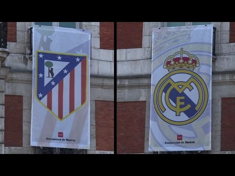 Madrid gripped by football fever ahead of Real-Atletico derby