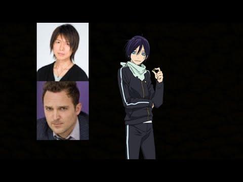 Anime Voice Comparison Yato Noragami