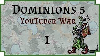 Dominions 5 YouTuber War - Ep 1 - LA CTis