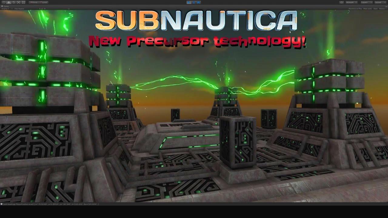 new precursor technology subnautica news 45 youtube. Black Bedroom Furniture Sets. Home Design Ideas