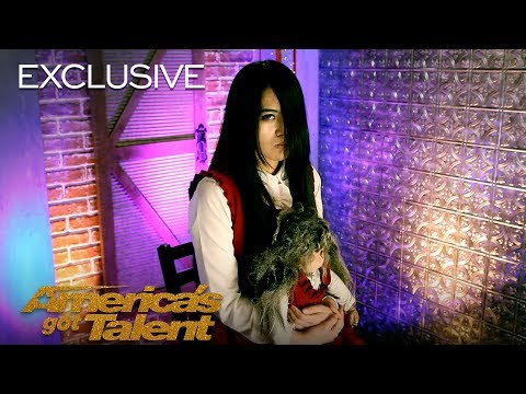 The Sacred Riana Scares Us More Than Ever Before - America's Got Talent 2018