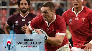 Rugby World Cup 2019: Wales vs. Georgia   EXTENDED HIGHLIGHTS   9/23/19   NBC Sports