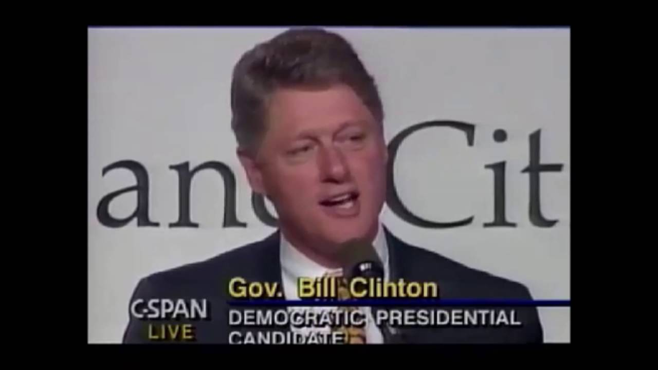 Bill Clinton's Sister Souljah moment - JUNE 13, 1992
