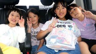 大人っぽくなったココちゃんとの一年ぶりの再会を喜ぶ三姉妹