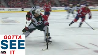 GOTTA SEE IT: Greenway Powers Through Capitals To Score Beauty Goal