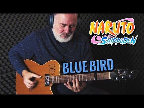 Blue Bird – Naruto Shippuden OP3  (ナルト疾風伝) – fingersyle guitar cover