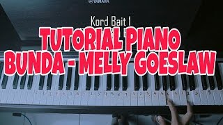 Bunda - Melly Goeslaw Tutorial Piano by Adi