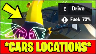 Fortnite CARS LOCATIONS & GAMEPLAY
