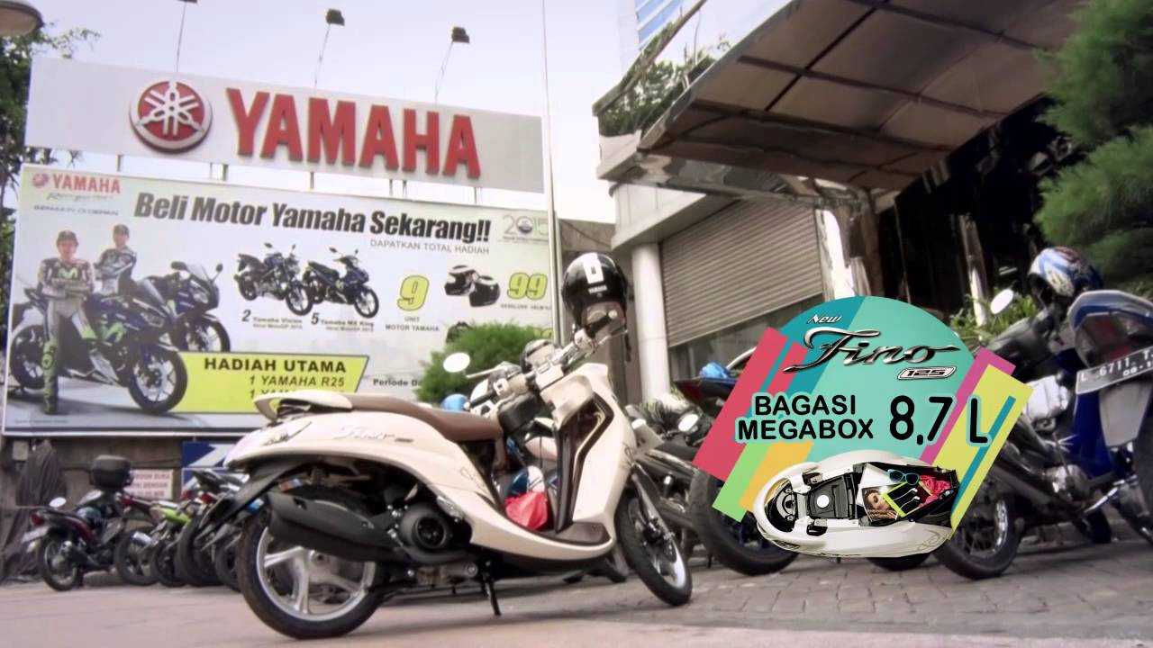 Review Yamaha New Fino 125 Blue Core