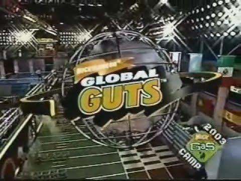 Global Guts (1995) Irina (Russia) vs. Rachael (UK) vs. Ricardo (Portugal)
