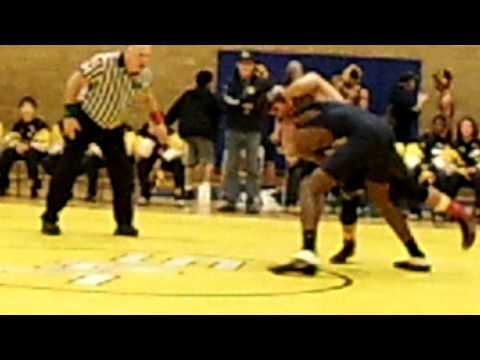 Sacajawea Middle School Wrestling Match (WIN)
