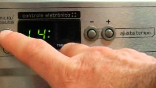 AJUSTAR O RELÓGIO DO FOGÃO ACTIVE BRASTEMP (timer)