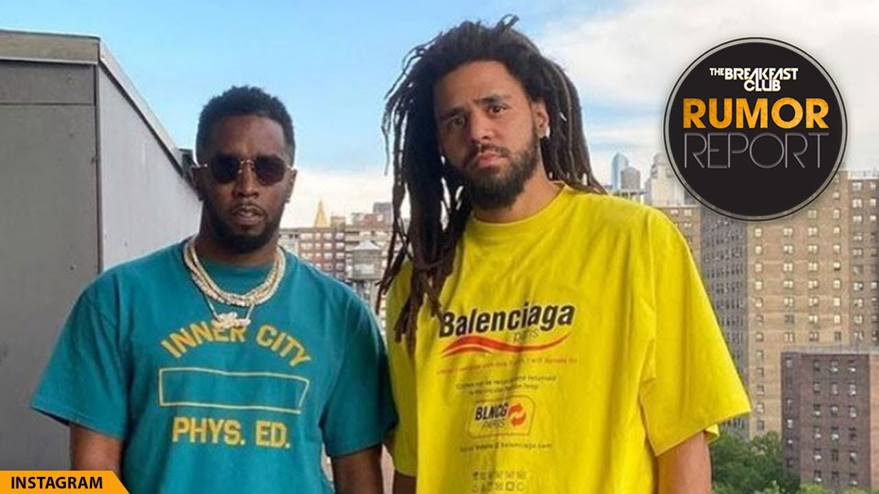 J. Cole And Diddy Peace Up On IG, Envy Threatens To Spill Breakfast Club Secrets