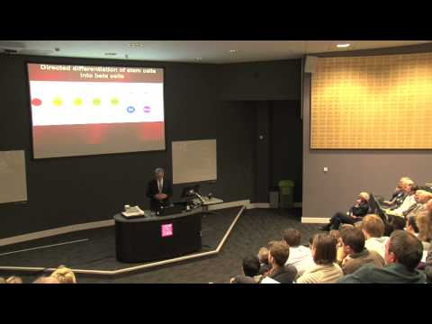 60th Anniversary Marshall Alumni Lecture - Prof Doug Melton Cardiff University.  Lecture only