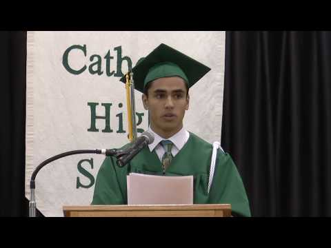 Holy Family Catholic High School Class of 2018 Valedictorian Kenneth Palattao, Jr.