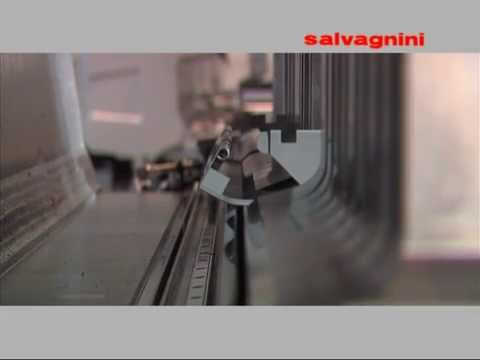 Making stainless steel furniture by Salvagnini Panel bender