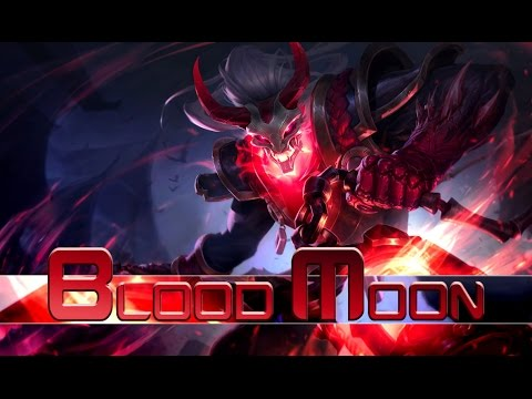 League of Legends: Blood Moon Thresh (Skin Spotlight)