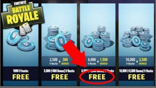 'NOW WORKING' - FORTNITE V BUCKS GLITCH (GET ANYTHING FOR GRATUIT)