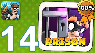 Robbery Bob - Gameplay Walkthrough Part 14 - Chapter 11: Prison (iOS, Android) screenshot 4