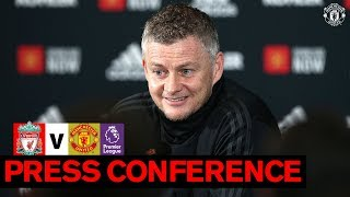 Manager39s Press Conference  Liverpool v Manchester United  Premier League