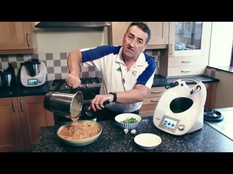 High Protein Chicken and Beetroot Risotto (Nigel Mitchell) - Thermomix ® TM5 Recipes