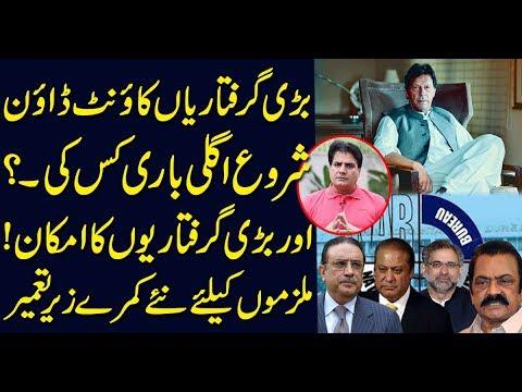 Countdown of arrests begin .. Who's next ۔۔? Sabir Shakir Analysis