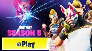Fortnite Season 5 NEW Battle Pass! - NEW Season 5 in Fortnite: Battle Royale! (Fortnite Update)