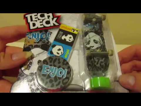 Enjoi Tech Deck Series 8 Unboxing #1