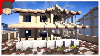 Minecraft - Suburban Construction Zone & Walmart
