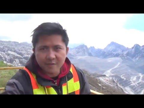 VLOG - berada ketinggian 4825 Mdpl grasberg mine freeport papua (cartenz)