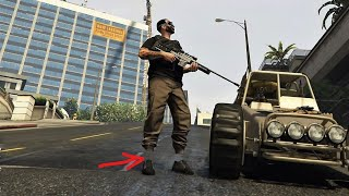 HOW TO DO INVISIBLE ANKLES GLITCH ON GTA 5