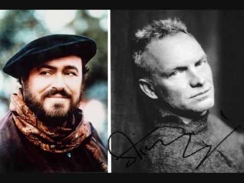 Pavarotti & Sting***Panis Angelicus mp3