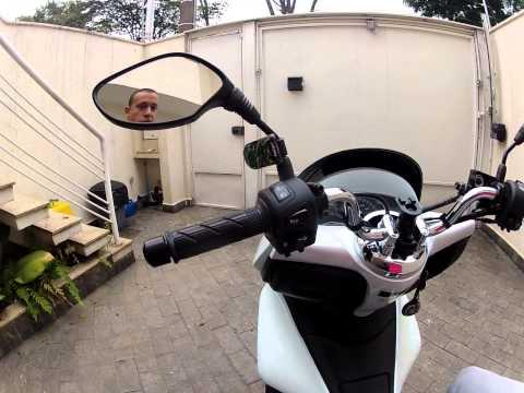 Honda PCX 150 Consumo e suspensão