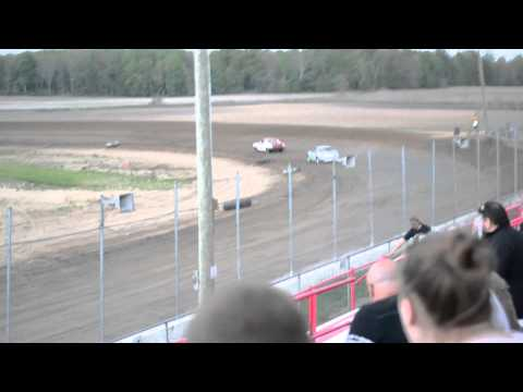 Bryce McCune's First Race at I-96 Speedway