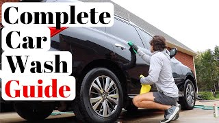 How To Wash A Car | The Most Basic & Quickest Detail EVER!!!