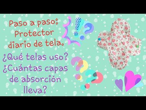 PASO A PASO: #CÓMOHACER #PROTECTORESDIARIOS De Tela, Reutilizables. ¿Qué Telas Uso? Moldes Gratis.