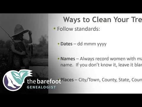 Ways To Clean Up Your Family Tree