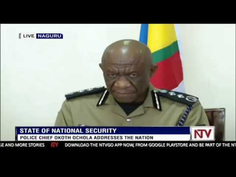 IGP Okoth Ochola addresses the nation on state of security