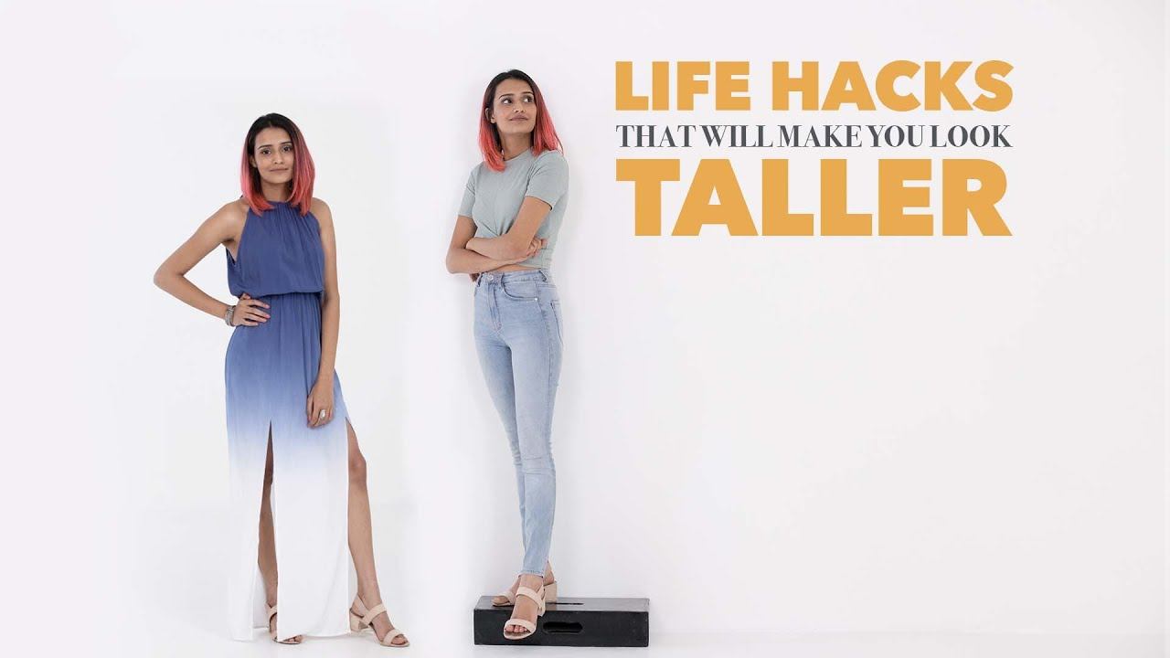 Look Taller With These Fashion And Style Hacks