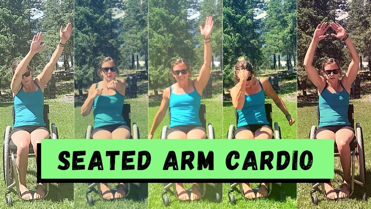 Seated Arm Cardio - Paraplegic Cardio Exercise