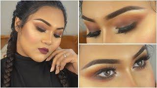 My Go-To Fall Glam Makeup Look   Raisa Naushin
