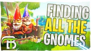*NEW* FORTNITE CHALLENGES, SKINS, GNOMES & MORE (Fortnite Battle Royale)