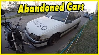 Abandoned Cars Exploring in Kiev 2018. Abandoned Vehicles Found. Lost Cars and Truck 2018