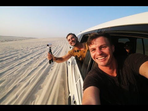 INTO THE DESERT - Qatar Vlog